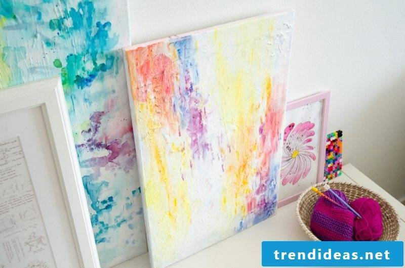 Paint your own pictures Multicolor