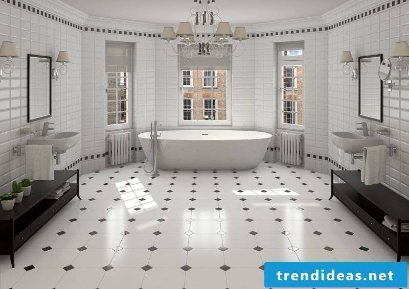Italian tile mosaic floor tiles