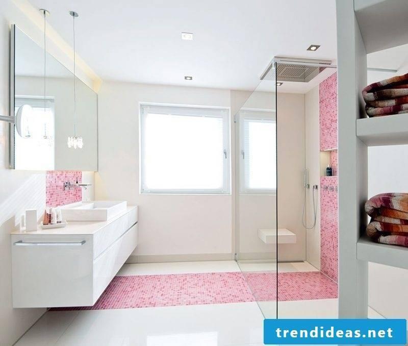 Italian tiles pink