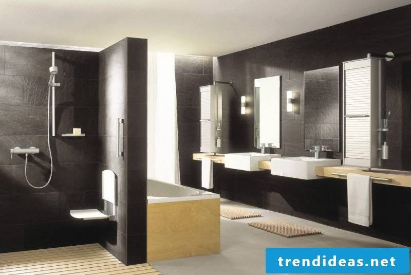 Italian tiles black