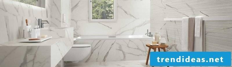 Italian tiles white marble