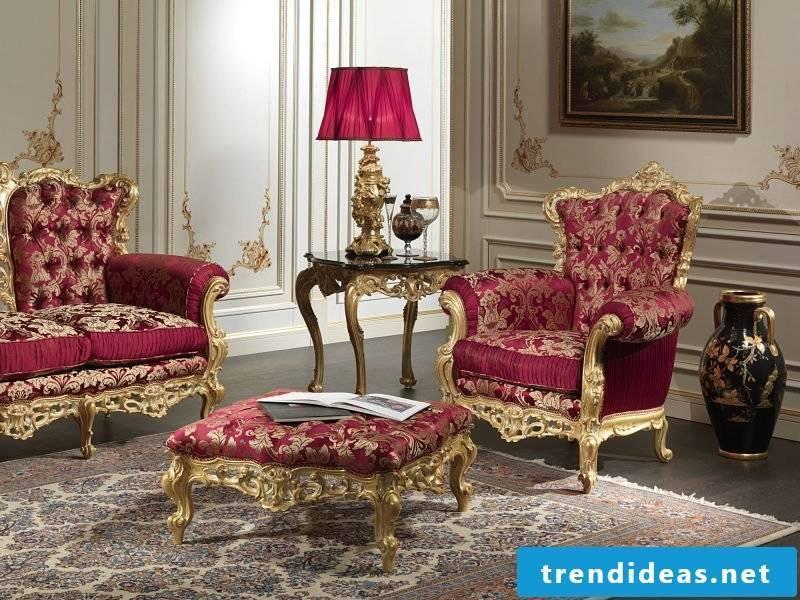 Baroque Furniture Armchair