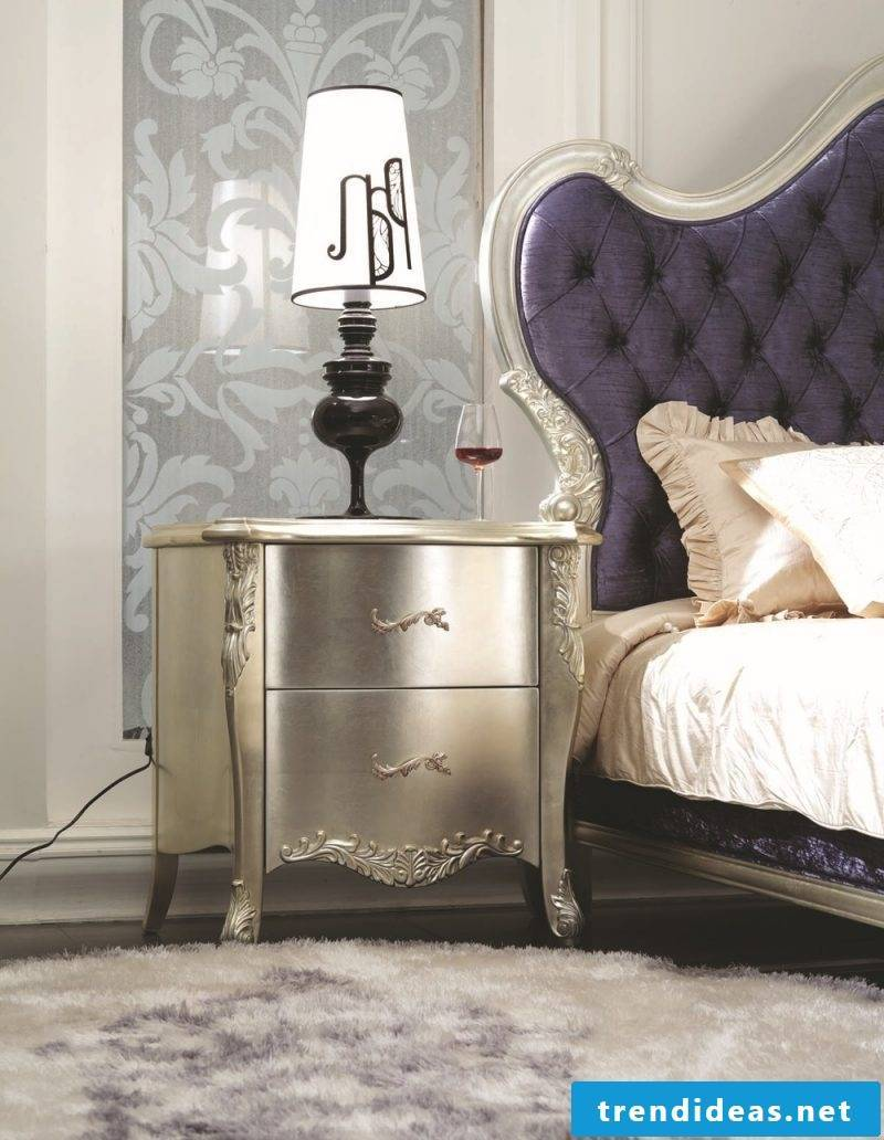 furniture country style white silver combination bedroom decorating deco ideas