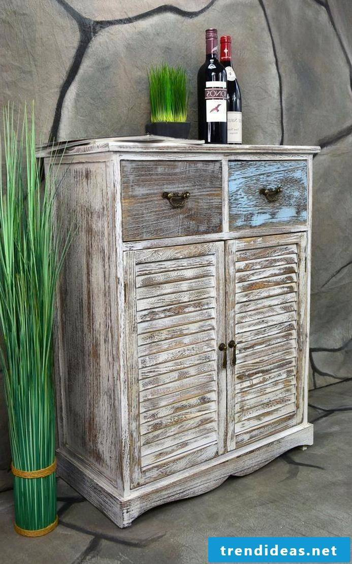 furniture country style white natural wood design cabinet dresser antique furnishings rustic furniture country house