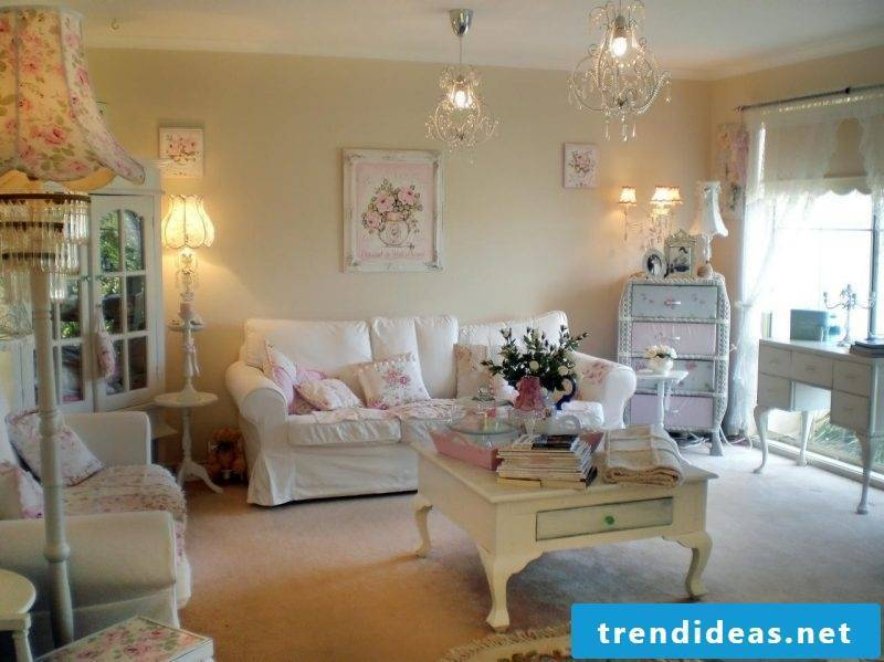 Furniture Country style White modern country style