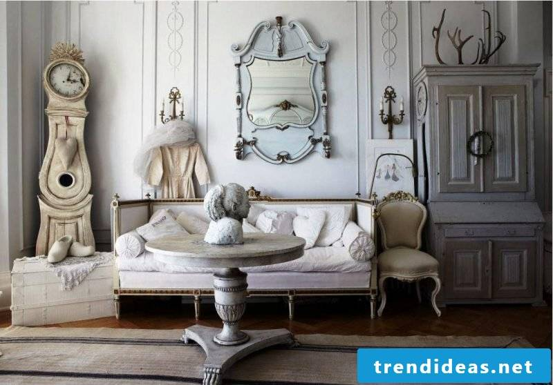 Furniture Country style white best ideas furnishing effective accenting mirror sofa chair table accessories