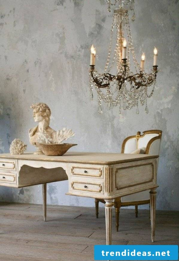 Furniture country style white antique office furniture set up decorating ideas