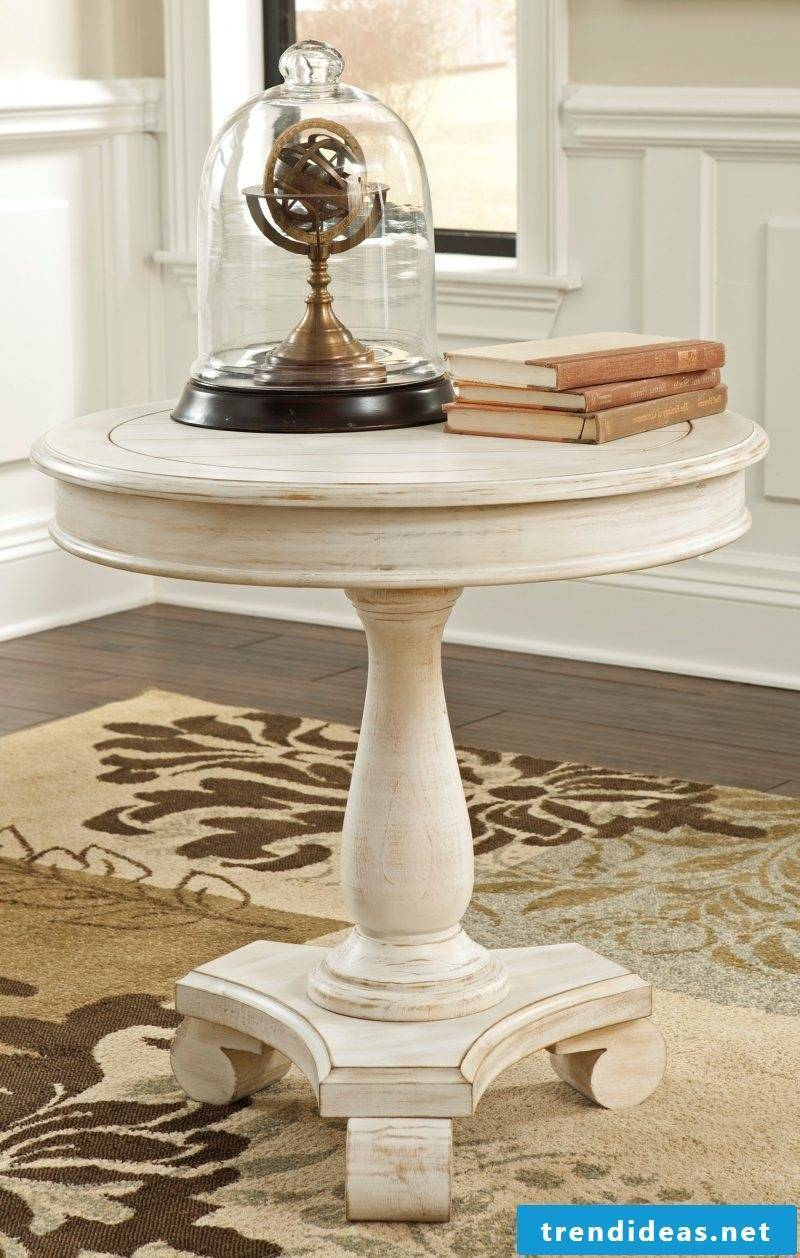 Furniture country style white table wood table decoration accessories living room furnishings