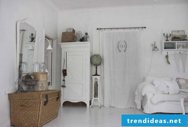 Country style furniture white sofa wardrobe home decor furnishings