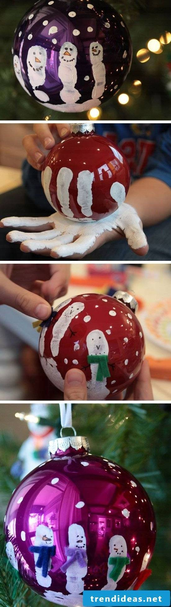 Christmas crafts with children