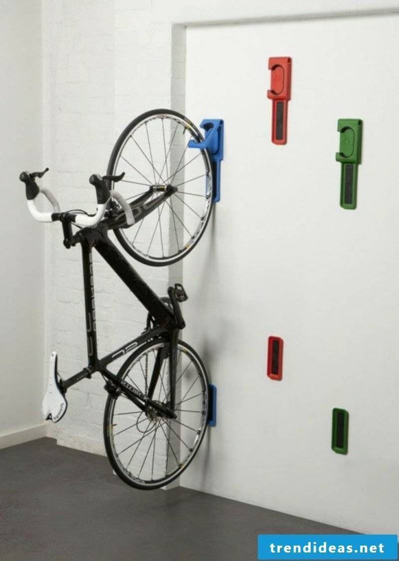 bike holder wall bike wall mount