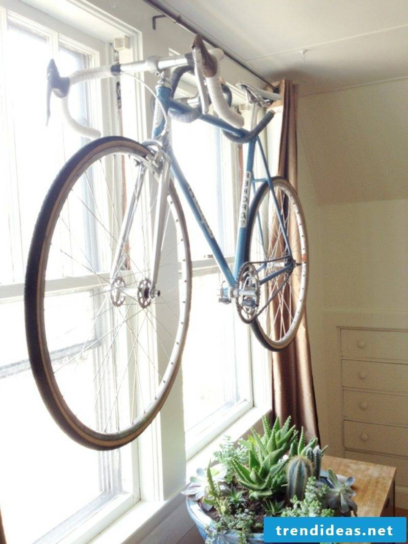 Bike Holder Wall DIY Wall Bike Hanger