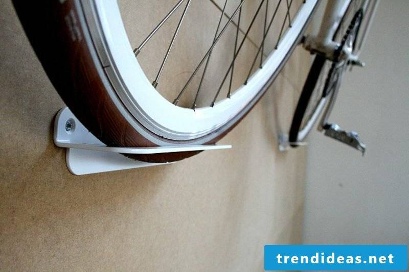 bike holder wall simple and firm
