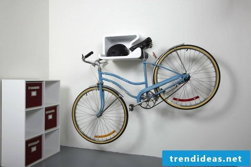 bike holder wall shelfie bike wall mount
