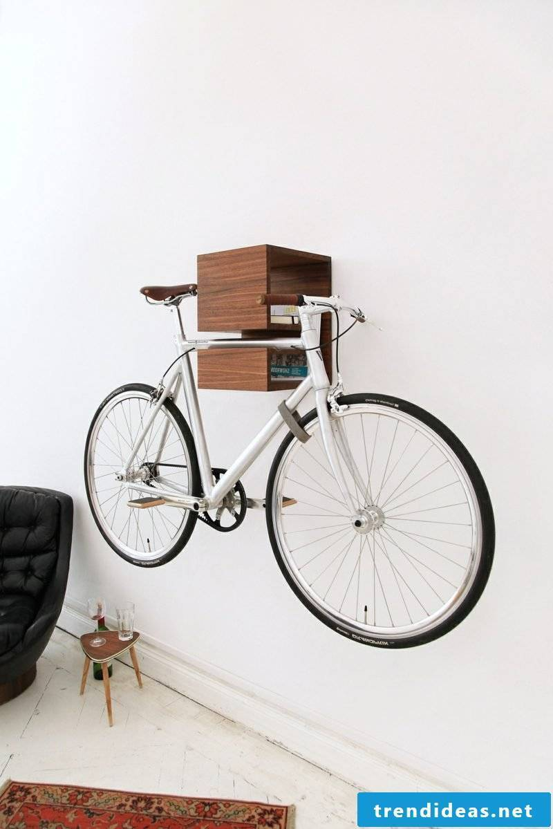 bicycle holder wall living room ideas