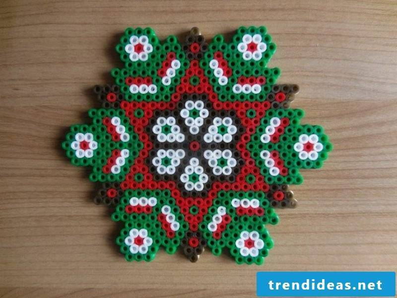Beading templates Christmas original ideas to imitate