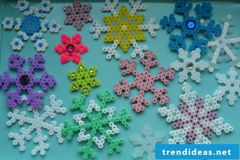 Beading templates Christmas great snowflakes
