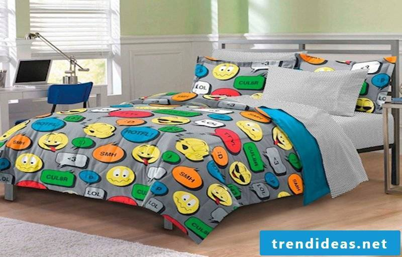 Cool bedding inspired by the chat