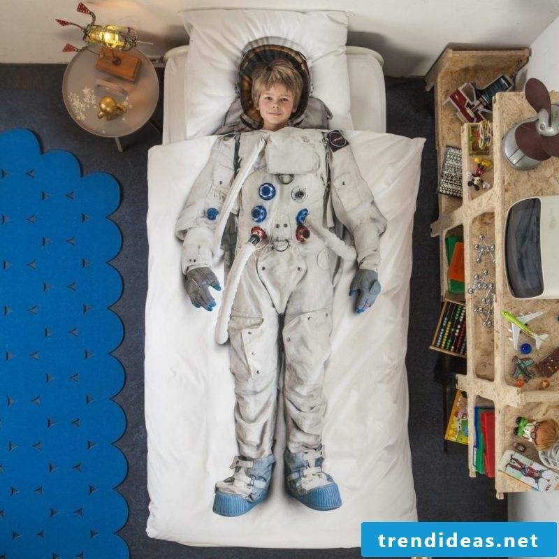 Cool bed linen with your favorite hobby