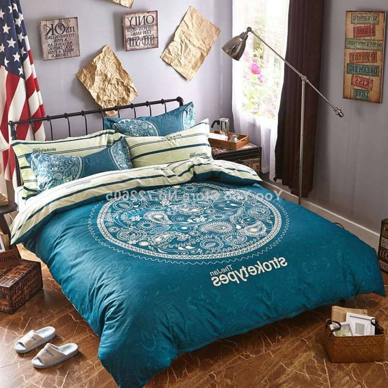 Cool sheets in blue