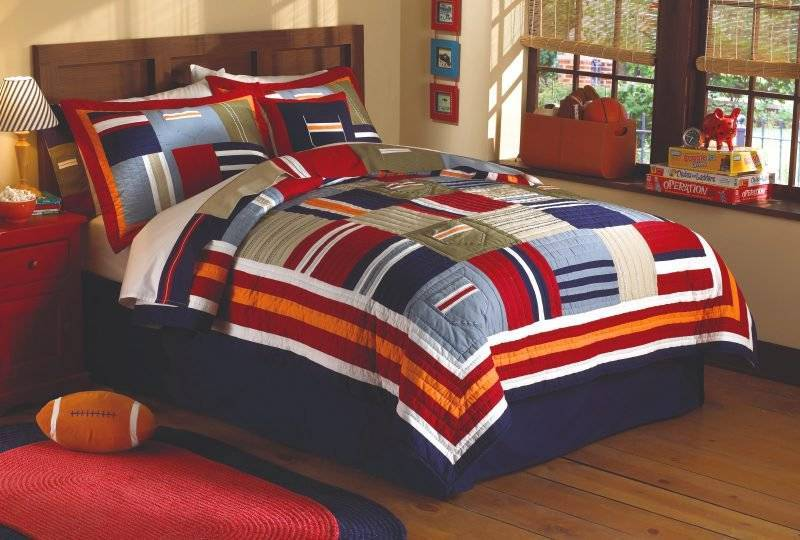 Cool linens are an important part of teen rooms