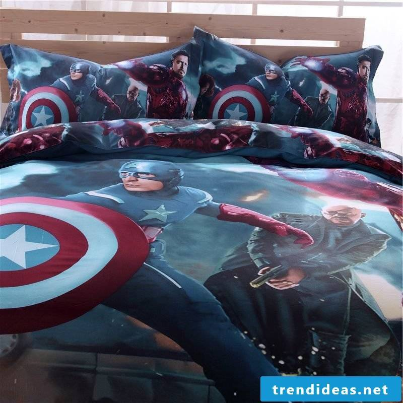 Cool bedding inspired by video games