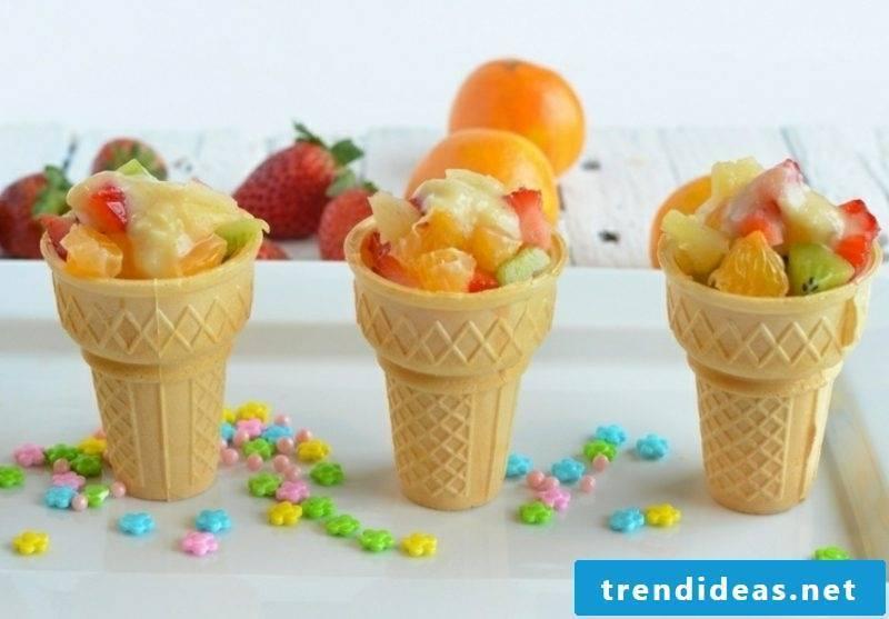 Food for child birthday fresh fruit finger food