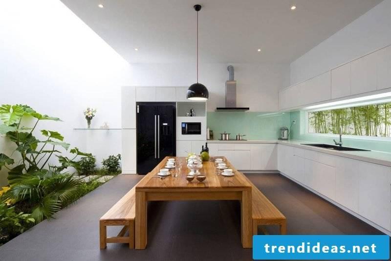 Make kitchen back wall cheap