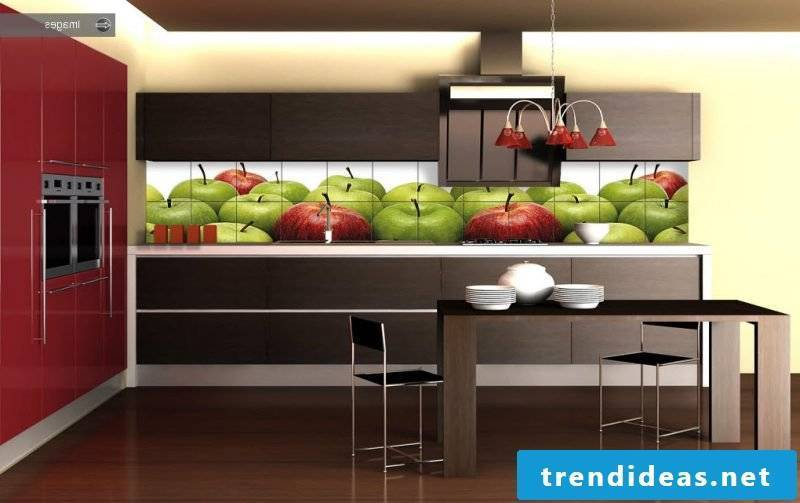 Kitchen back wall cheap and fresh design