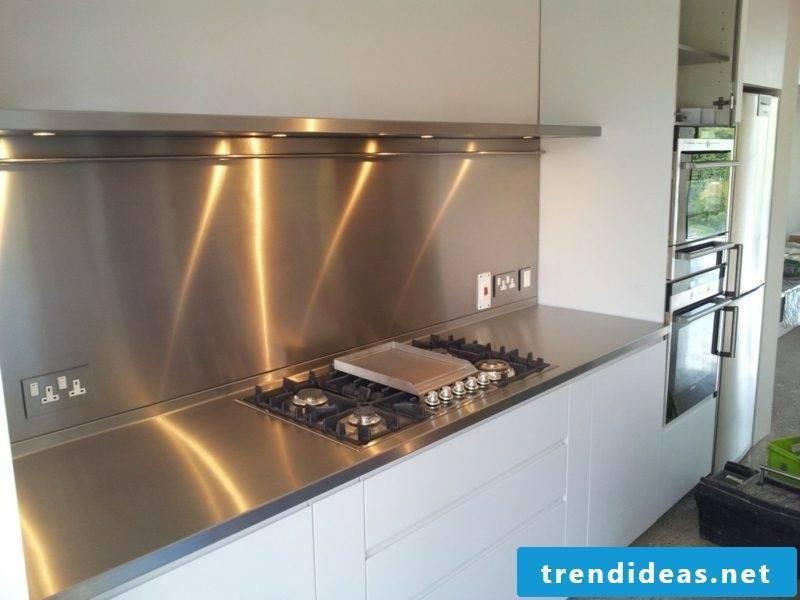 Kitchen back wall ideas