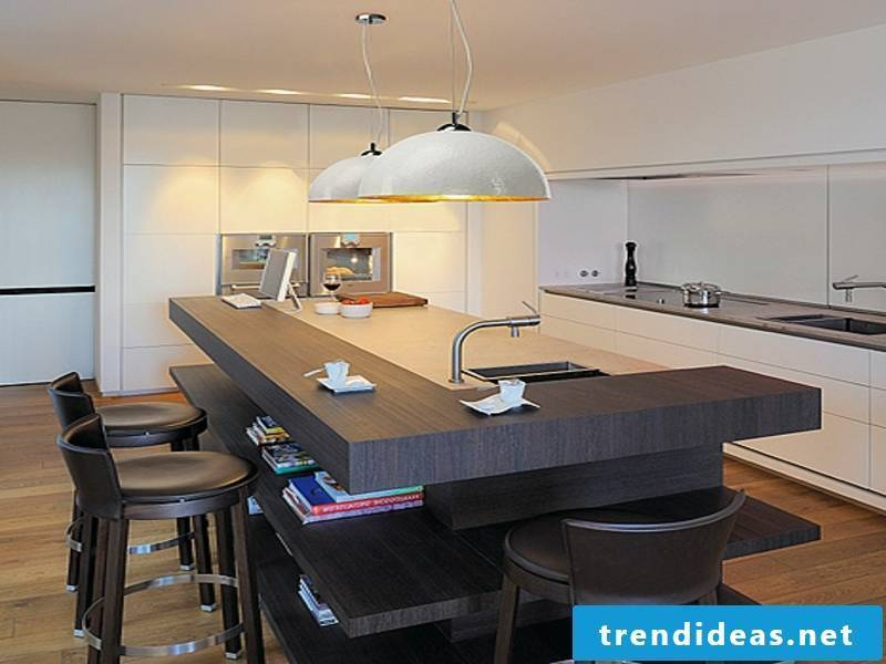 retro style in the kitchen lighting
