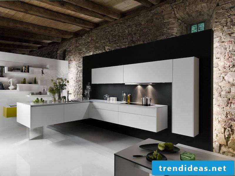 kitchen lighting and stones