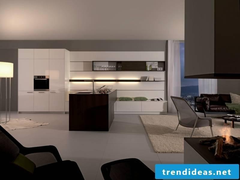 Delicate kitchen lighting