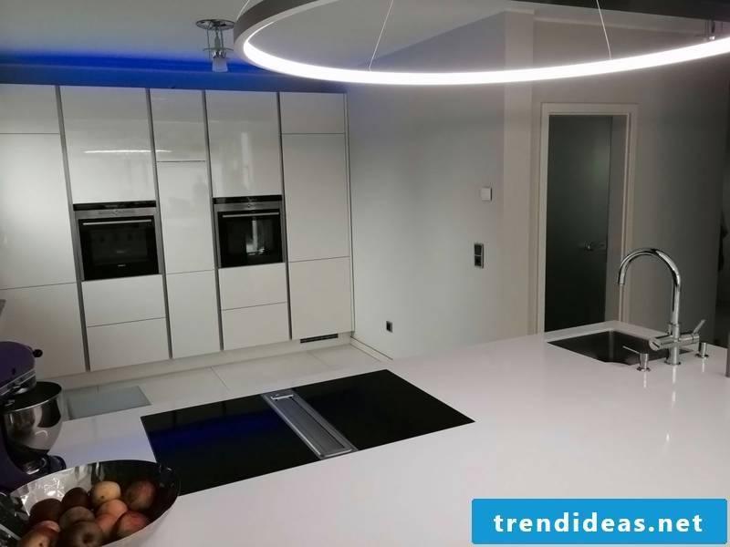 round kitchen lighting