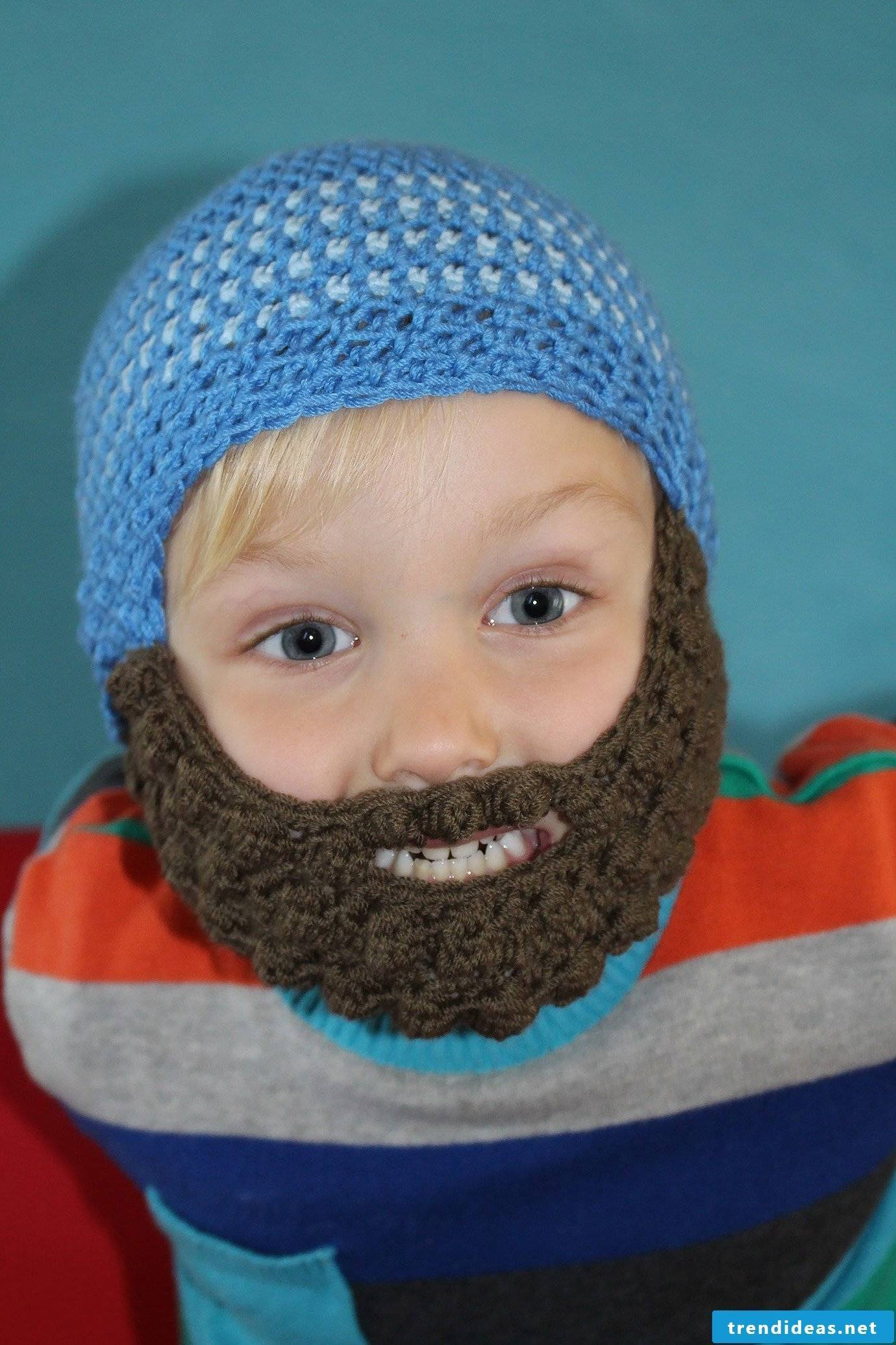 Crochet a fun hat for your child