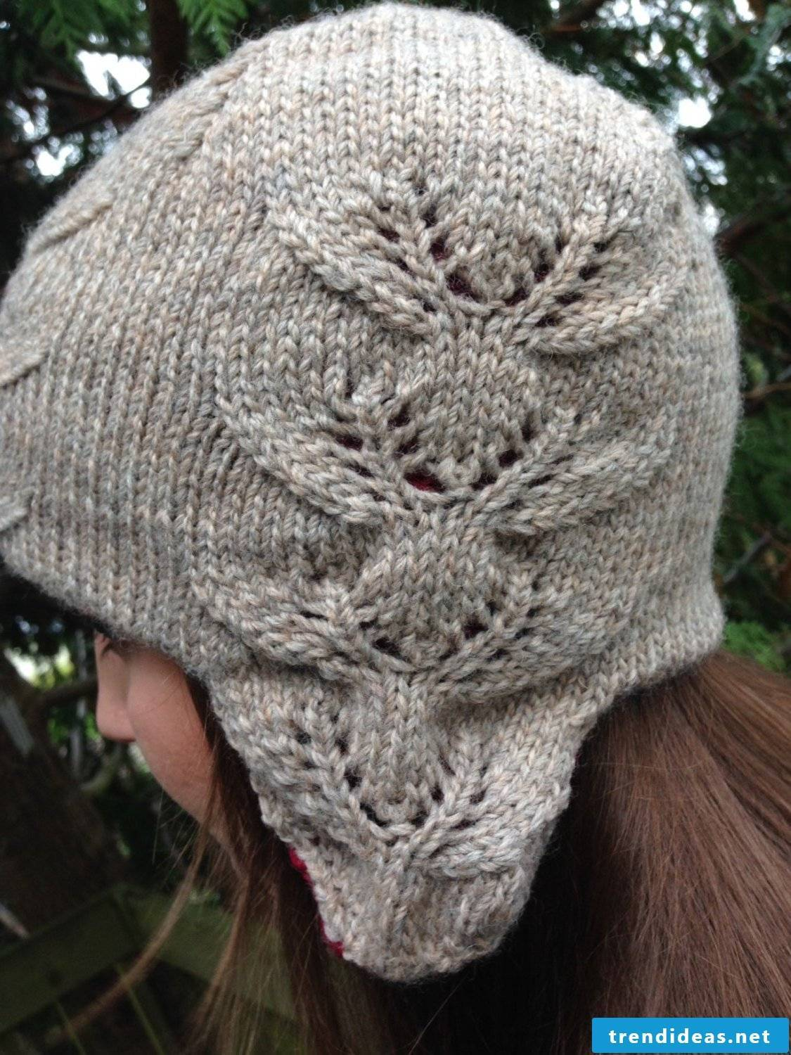 Crochet a great hat in gray
