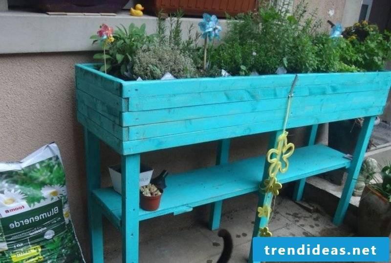 blue crumbly nursery in unusual design