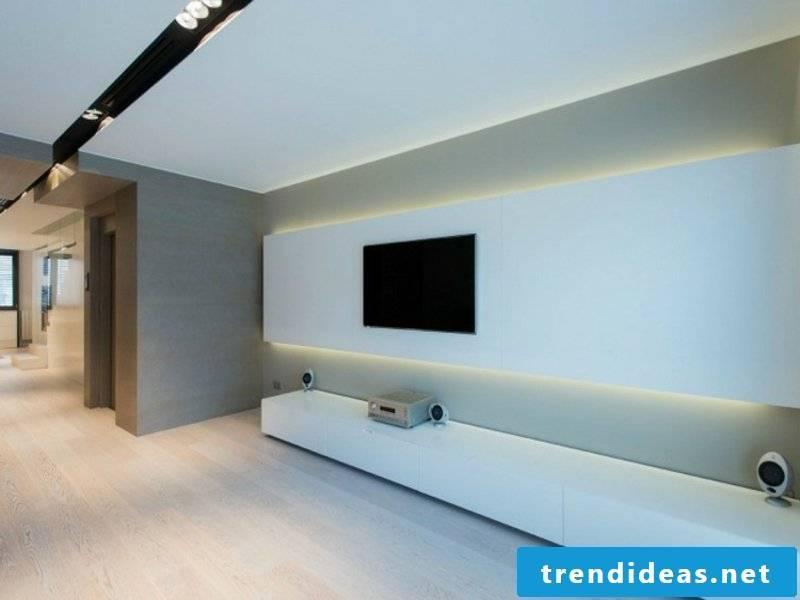 backlight in the living room