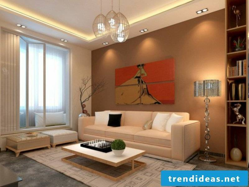 interesting living room furniture with lighting group