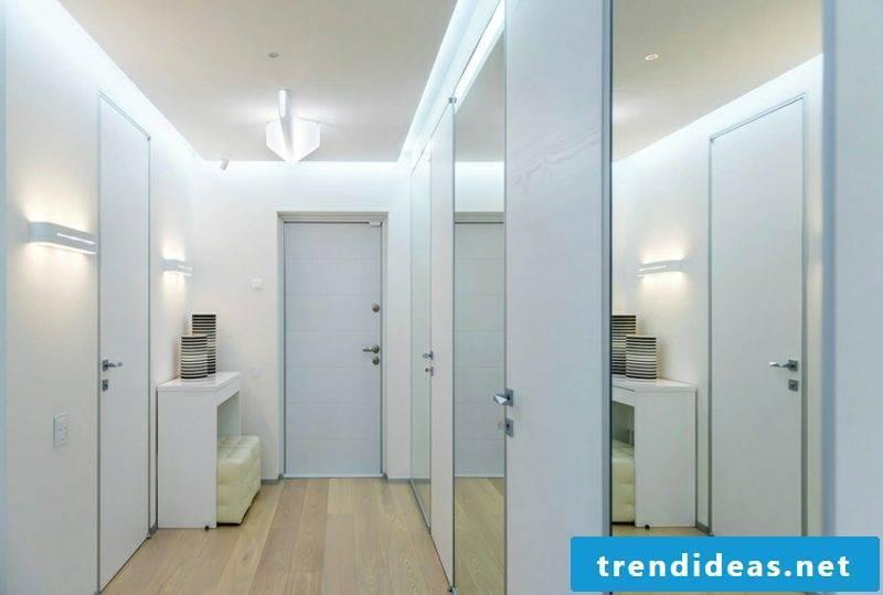 Hallway design modern minimalist style