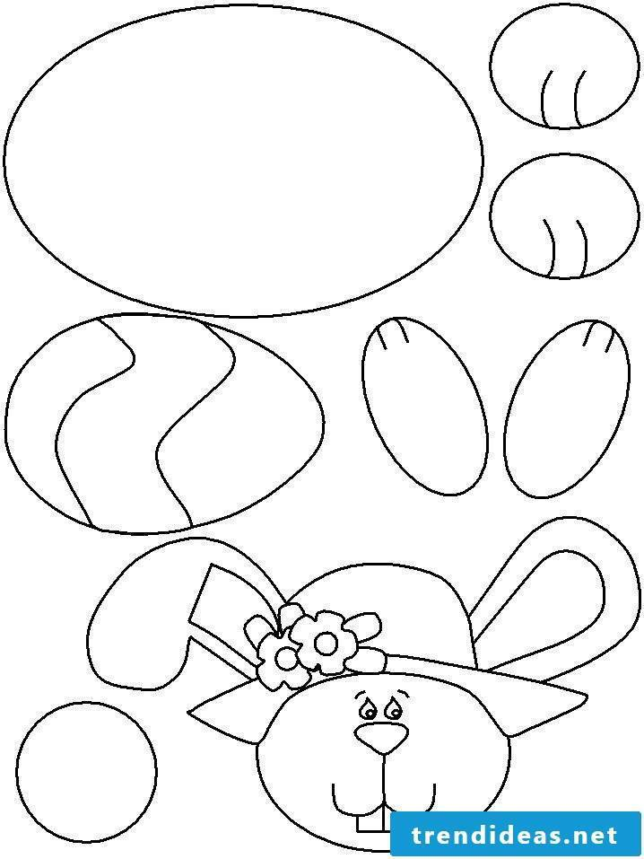 Free Easter templates for printing
