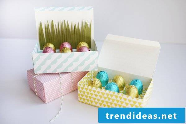 Easter pictures and templates to print for free - Osterkorb tinker