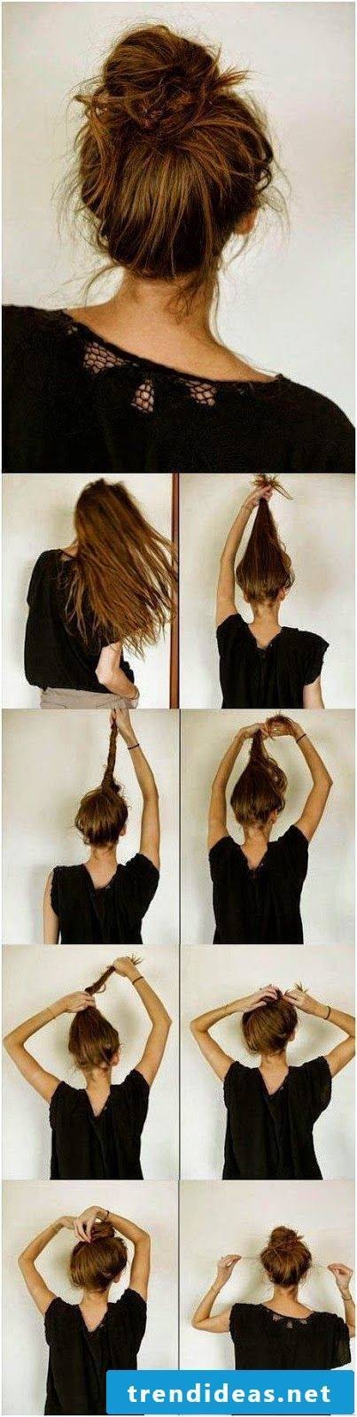 Updos Instructions for every day