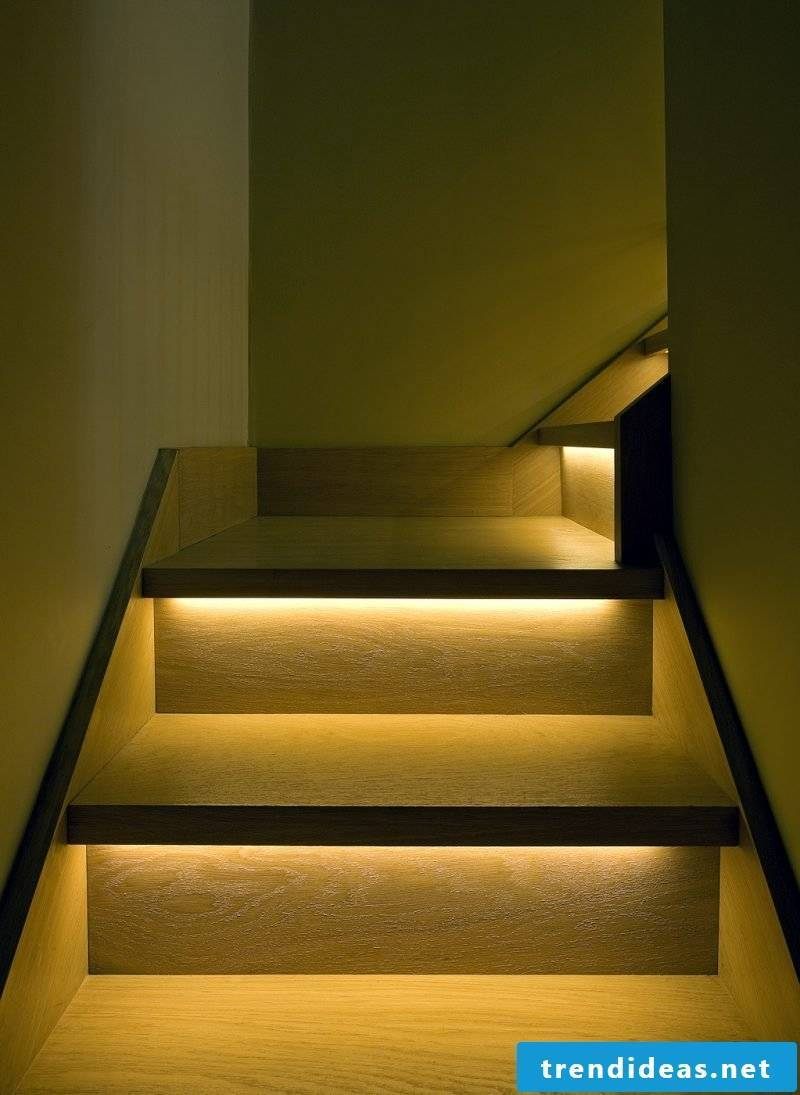 led stairwell safe