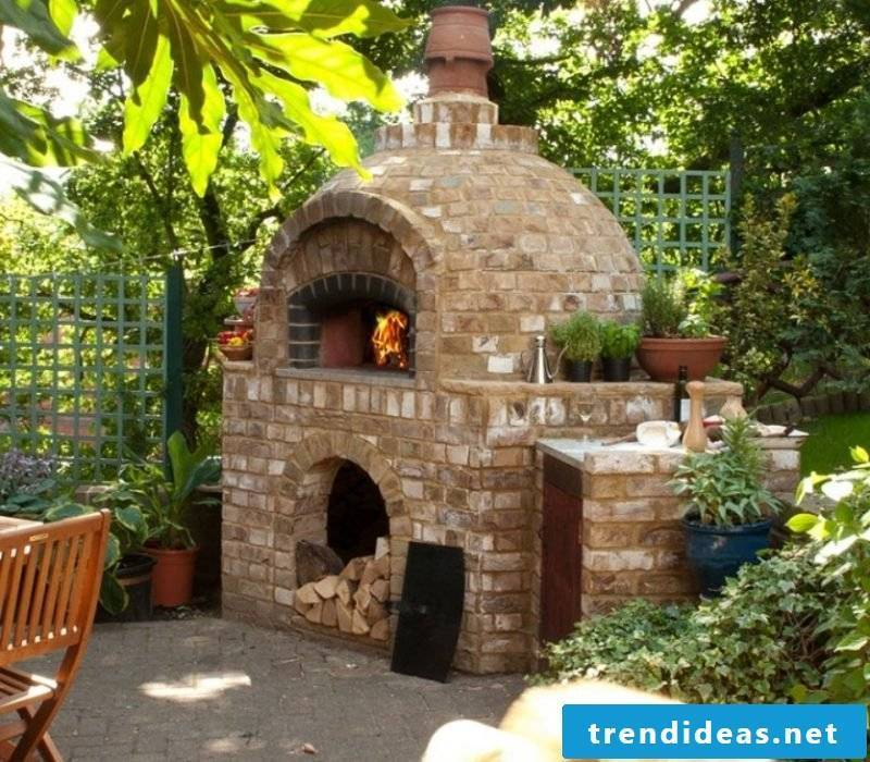 Oven itself make garden