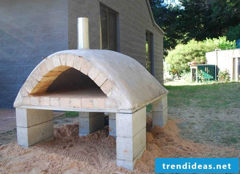 Oven itself make cement