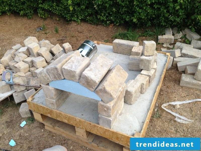 Oven itself make bricks