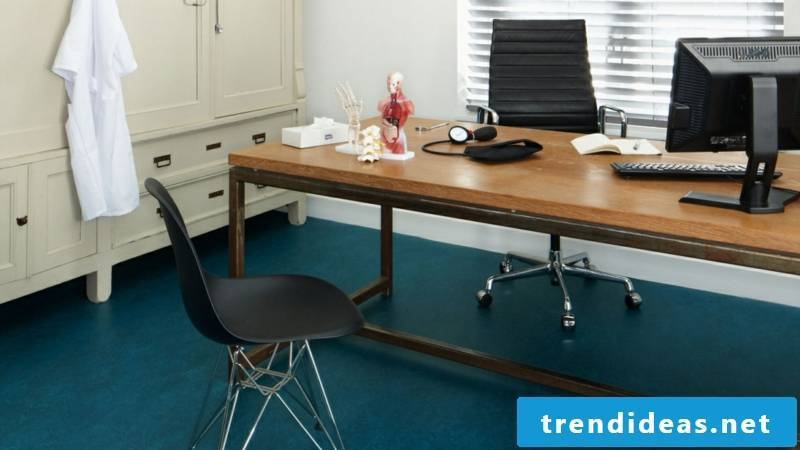 linoleum flooring natural material