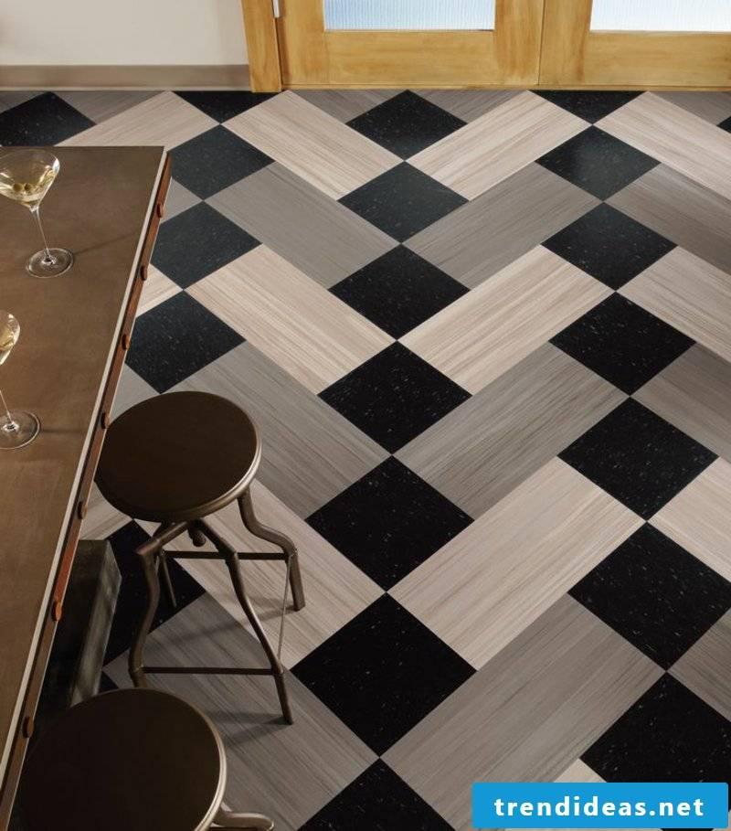 linoleum floor gray pattern