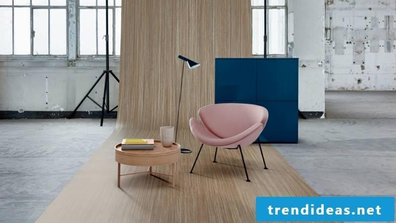 linoleum flooring beige wood look